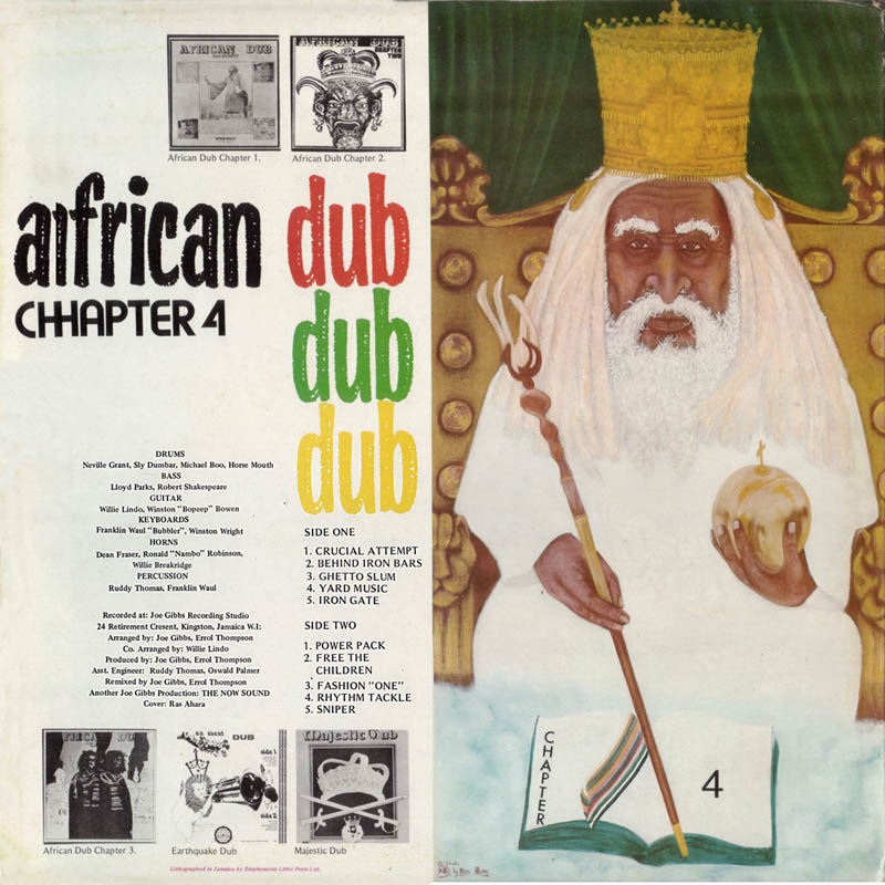 African Dub All-Mighty Chapter 4 Joe Gibbs & The Professionals Joe Gibbs LP