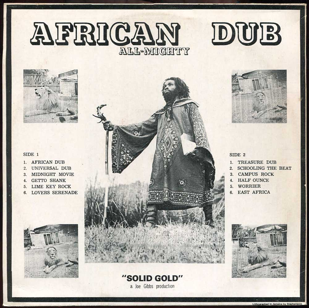 African Dub Joe Gibbs LP