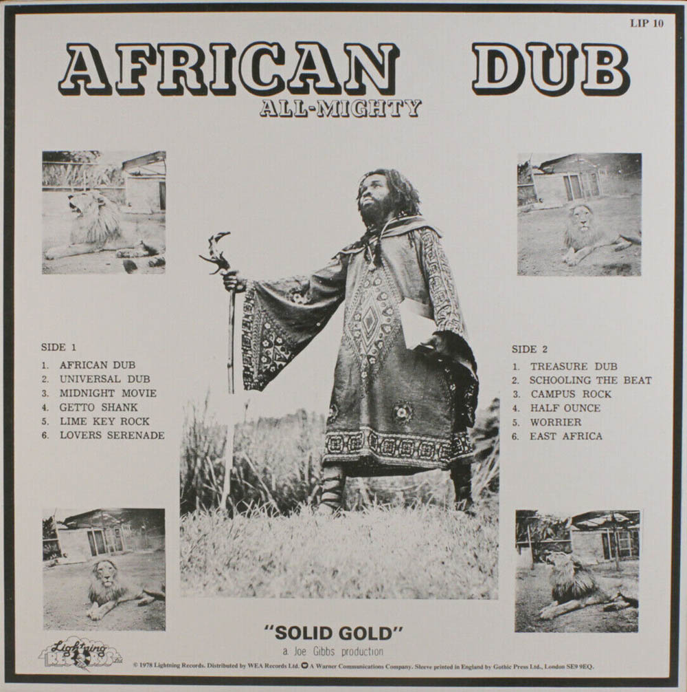 African Dub Chapter 1 Lightning LP