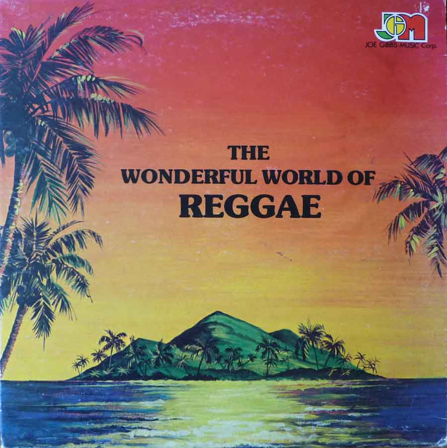 The Wonderful World Of Reggae LP cover