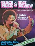 Black Music & Jazz Review magazine cover from April 1978