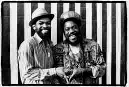 Dennis Brown and Nitty Gritt  - Copyright David Corio