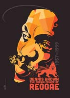 Dennis Brown Crown Prince poster Copyright of Freestylee - Michael Thompson