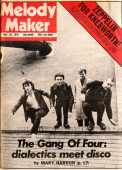 'Melody Maker' - Enter A Good Man Interview from 26th May 1979