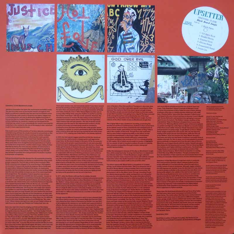 14 Dub Blackboard Jungle Auralux LP inner sleeve