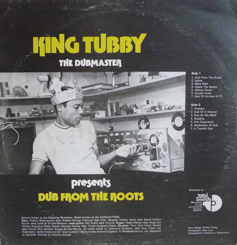 Dub From The Roots cover -  Total Sounds LP
