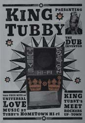 King Tubby Dub 12 Inch Poster Copyright of Freestylee - Michael Thompson