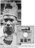 King Tubby - Dennis Morris image from Record Collector magazine