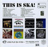 This Is Ska  LP rear cover